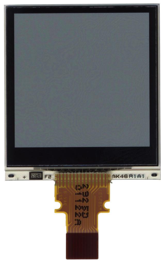 """1.28"""", 128 x 128 pixel Sharp Memory LCD LS013B7DH03"""