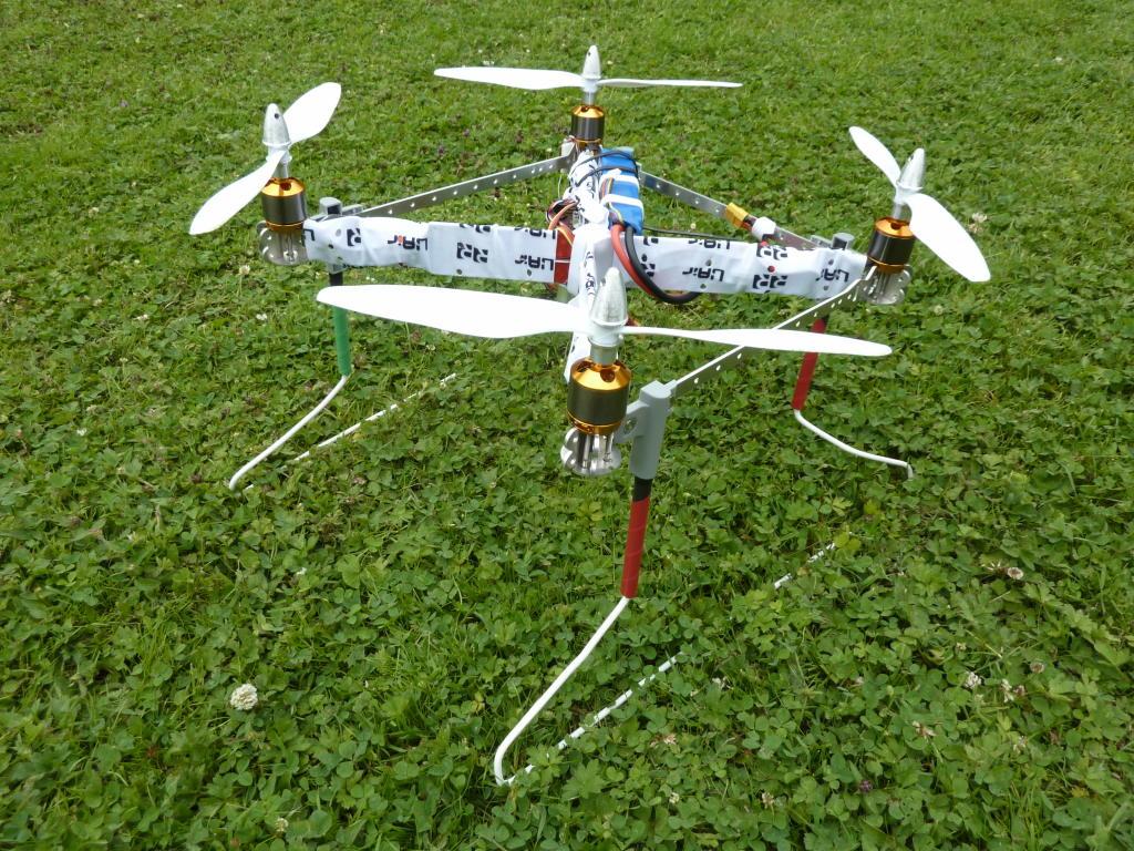 UAir R10 Quadrotor Custom Landing Gear
